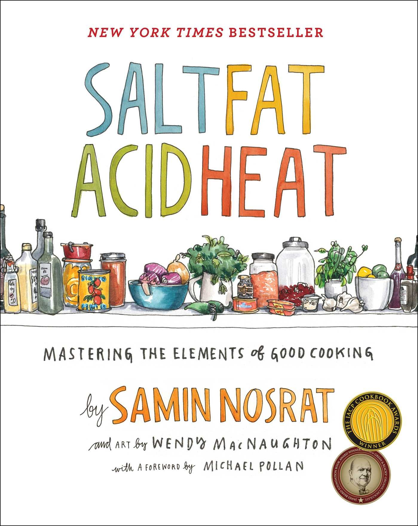 Salt, Fat, Acid, Heat, By Samin Nosrat • Epilogue Books Chocolate Brews