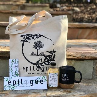 *GIVEAWAY IS CLOSED* Y'all know we love giving back, but this time we're giving directly to you! 😍 One winner will be randomly selected to receive a collection of our #Epilogue goodies - a canvas tote bag, cork-bottomed mug with travel lid, sticker, bookmark, and a bottle of housemade syrup (or a bag of @carrborocoffee , if we need to ship your winnings)  To enter: 1. Follow our account 2. Tag a friend 3. Share this post to your story and tag us (if your account is private, dm us a screenshot of it on your story)  Contest will close at 11:59pm on Sunday, March 14  Per Instagram rules, this promotion is in no way sponsored, administered, or associated with Instagram, Inc. By entering, entrants confirm that they are 13+ years of age, release Instagram of responsibility, and agree to Instagram's terms of use. Promotion open to US residents only.
