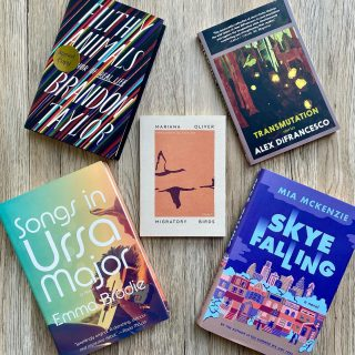 It's #NewReleaseTuesday and we've got an awesome batch of fiction this week 🤩📚 (including #signed copies of @brandonlgtaylor 's latest collection and even a book semi-maybe-based on James Taylor and Joni Mitchell 📖)