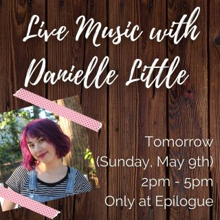 We have quite the treat in store for y'all tomorrow! 🤗 Live music with @danielle15724 makes for the perfect #MothersDay outing - especially when paired with a @carrborocoffee latte or maybe a @ponysaurusbrewing beer 🎶 See ya there!