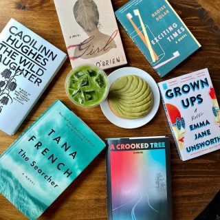 We're celebrating #StPatricksDay the only way we know how - green drinks and pastries and some great fiction out of Ireland 🇮🇪🍀