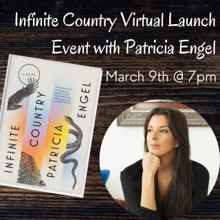 If you subscribe to our newsletter, you may have already heard, but we're doing an exciting virtual event with @patricia__engel next month to launch their new book! 🤩 (More details in the link in bio)