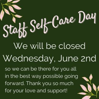 Hey y'all! Just a heads-up that we will be CLOSED on Wednesday, June 2nd so our staff can have a wellness day 💕 We love y'all and want to be there for you, so we'll be back at it on Thursday ready to help you with all your book and coffee needs!