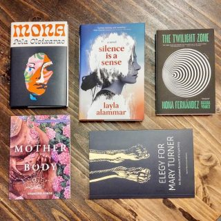 It's #NewReleaseTuesday 🤗 Poetry, fiction, books in translation - oh my! 📚 Which one of these are you most looking forward to reading?