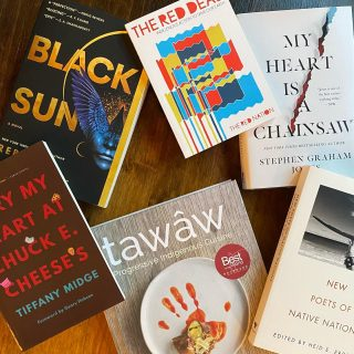 As we wrap up #IndigenousPeoplesDay , we want to highlight some of the awesome #indigenous authors and stories that we're honored to have on our shelves 🤗📚