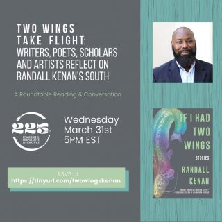 Fun fact: @unc_englishcomplit is hosting a roundtable to engage with the legacy of Randall Kenan's work and Black southern literary traditions - and they're giving away 20 copies of If I Had Two Wings to attendees 📚 Who else will be there? 🤩 (We know we will!)