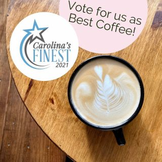 It's that time of year when @dailytarheel is asking for your Chapel Hill favorites 🤩 We hope we've earned your vote as #CarolinasFinest Coffee ☕️ so please cast your vote for us!