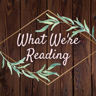 A little bit of social commentary, a little bit #YA - all our staff's #CurrentlyReading 🤗📚 What're y'all reading this week?