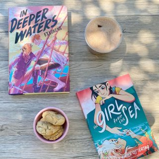 We're in the mood for a little bit of YA #LGBTQ + romance by the sea today 🌊💕 Where are your literary adventures taking you today? 📖