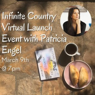 We're less than two weeks away from the Infinite Country #virtuallaunch 🥳 We're seriously excited and hope y'all are too! Order your copy and we'll send you a link to the event 🤗 (Bonus points if you get a few Epilogue snacks to celebrate 😋)