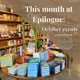 Mark your calendars, amigxs! We have a ton of exciting events happening this month at Epilogue featuring some very special guests!  ✨First up is an Instagram Live conversation with author Rosecrans Baldwin on his new book Everything Now: Lessons From the City-State of Los Angeles, a provocative and exhilarating novel delivering a new understanding of the United States' most confounding metropolis.  ✨Next we have a live weekend performance by singer-songwriter Andrew Kasab on Friday, 10/15.  ✨ Después de año y medio de no vernos debido a la pandemia, Café Cortado vuelve a reunirnos, esta vez con la participación especial del poeta Jeremy Paden!  ✨ Join us for the launch and *exclusive* pre-sale of Bibliophile: Diverse Spines by Jamise Harper & Jane Mount! Jamise will also be pairing some of our in-house wine selection with book recommendations!