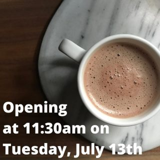 Y'all already know exciting changes are in the works and to help those changes happen, we're going to be opening at 11:30am instead of our usual 8am tomorrow! 🤗