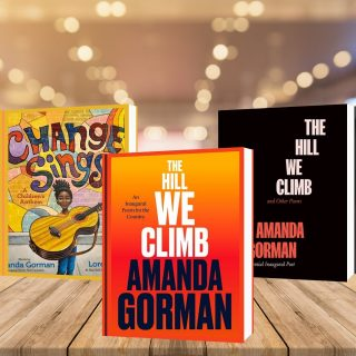 It took us a few days to find the words, but today we're highlighting the Stars of the 2021 Inauguration! 🤩 Amanda Gorman's books are available for preorder and the rest are available in store and on our website!