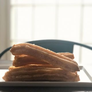 Churros can be part of a nutritious breakfast! 😋 (Fun and deliciousness are essential nutrients, right? 🤔) And they're #vegan!