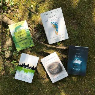 It's #EarthDay and we have more than a few books on the subject 🌎 Today through Saturday ( #IndieBookstoreDay ), we'll be giving away a FREE #plantable bookmark with every purchase of an Earth Day-related book (children's or adult) 🤗