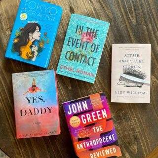 It's #NewReleaseTuesday and we've got essays, short stories, and novels for you!  📚  Healthy dashes of nostalgia from @emikojeanbooks (Princess Diaries + What A Girl Wants + Crazy Rich Asians) and @johngreenwritesbooks (y'all know his other books) 📚 A modern gay gothic novel in the Hamptons makes a great summer read from @jprampage 📚 Two fantastic literary short story collections from @giantratsumatra and @ethelrohan are refreshing and powerful new additions!