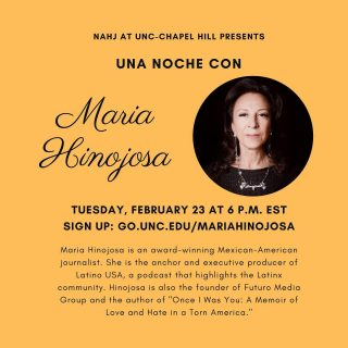 We're sponsoring a super awesome event later this month featuring @maria_la_hinojosa 🤗 Who else is looking forward to a convo with an awesome #latinx journalist?!?! 🤩