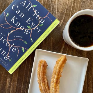 #Vegan churros, @carrborocoffee , and an excellent #smallpress memoir make for our perfect Saturday vibes 😌   Don't forget that 20% of all our book sales today and tomorrow (online and in-store) will be donated to @ncaatogether and @advancing_justice_atl 📚