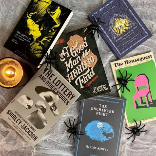 The ~spookiest~ day of the year is just around the corner, ghouls and gremlins! 👻 For those of us who love to spook or be spooked, we can always rely on these classic greats to get get our hearts pounding and palms sweating! 📚🕸🕷  Immerse yourself in these skin-crawling tales this weekend- we promise they're to die for! 🧛🏽♀️