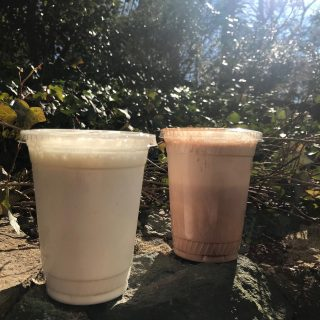 Y'all know we have milkshakes, right? 😋 The two pictured are dulce jalapeño and cinnamon chocolate! 🤗 (And they're made with @mapleviewfarmicecream so you know it's good!)