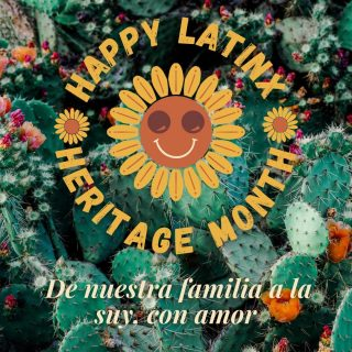 """Happy Latinx Heritage Month 🥳💃🏽 As a Latinx-owned bookstore, September and October has a special place in our heart as we celebrate what brings us together and sets us apart in our local community.   Comprised of a wide range of countries, races, languages, traditions, foods, and art, the term """"Latinx"""" encompasses a multitude of complex identities coexisting beneath the Texan border and in the beautiful islands of the Caribbean. Today, and every day we celebrate all the stories our people have shared as means of salvation, self-expression, activism, and empowerment. We are honored to be a hub to house a range of voices that tell us what it means to be Latinx, in all of its glorious forms 🤍🤎🖤"""